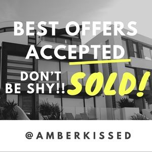Other - BEST OFFERS ACCEPTED!! DON'T BE SHY!! ❤️